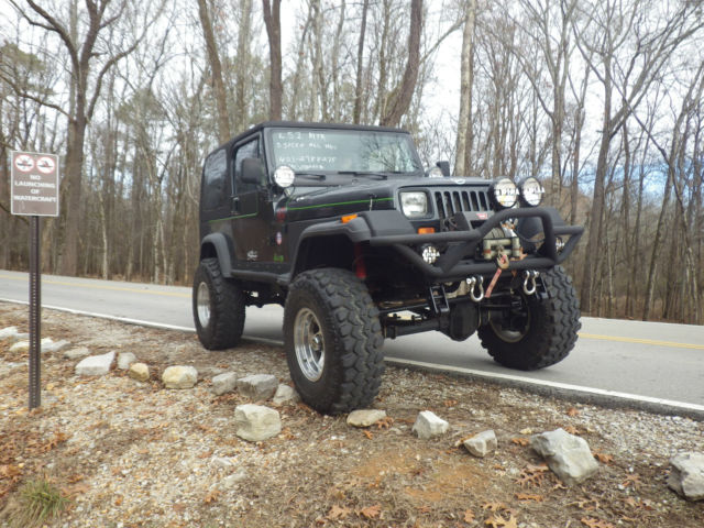 1989 jeep wrangler LS1 swap (vette engine) project car 4x4