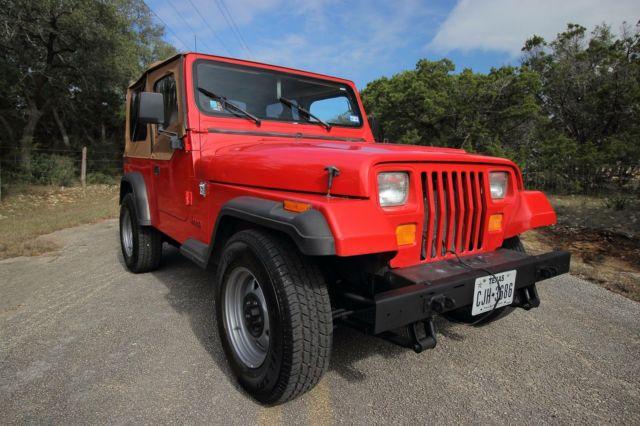 1989 jeep wrangler yj 4x4 6 cyl manual one owner 14k original miles super clean for sale. Black Bedroom Furniture Sets. Home Design Ideas