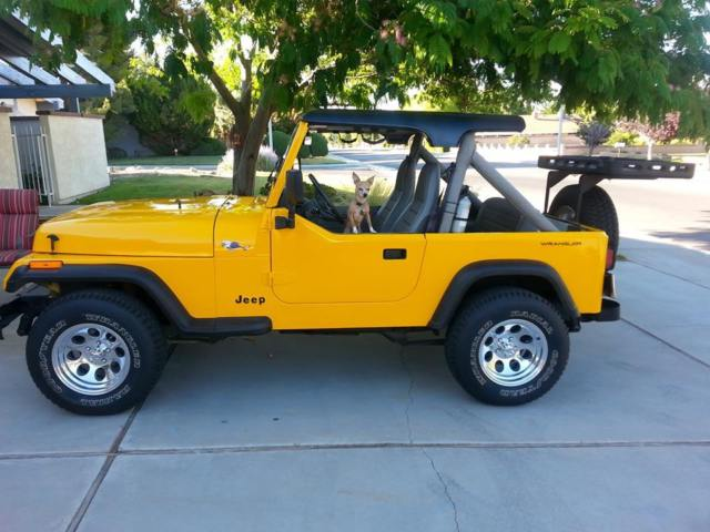 1989 Jeep Wrangler Yj Summer Bikini Top And Full Winter Soft Top