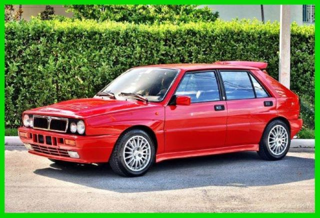 1989 lancia delta integrale hf 8v italian exotic rally car turbo all wheel drive for sale. Black Bedroom Furniture Sets. Home Design Ideas