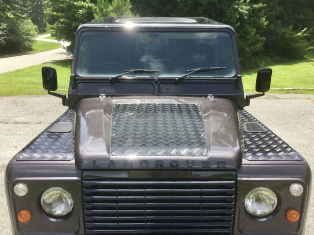 1989 Dark Grey/ Black Accent Trim Land Rover Defender Cab & Chassis