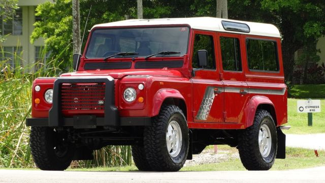 1989 Land Rover Defender DEFENDER STATION WAGON 110