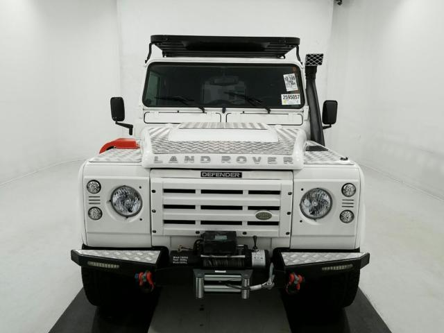 1989 Land Rover Defender 110 Left Hand Drive
