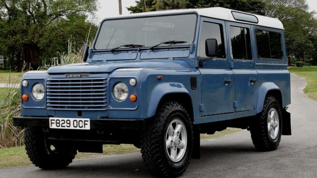 1989 Land Rover Defender CLASSIC DEFENDER 110 WAGON