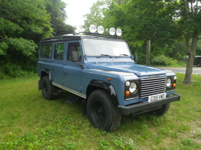 1989 Land Rover Defender County Station Wagon