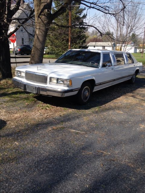 1989 lincoln mercury grand marquis stretch limo for sale. Black Bedroom Furniture Sets. Home Design Ideas