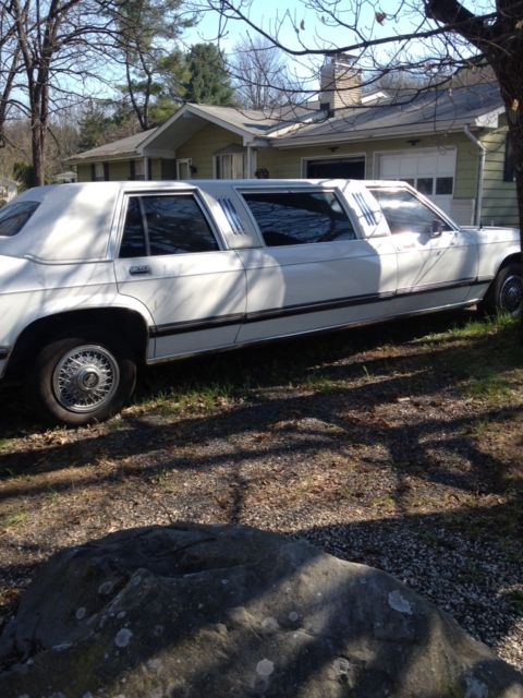 1989 Lincoln Mercury Grand Marquis Stretch Limo For Sale