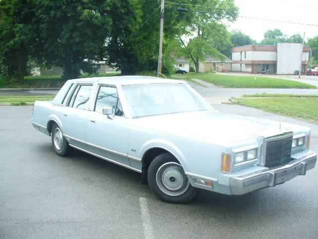 1989 Lincoln Town Car Great For Patina Custom Donk For Sale