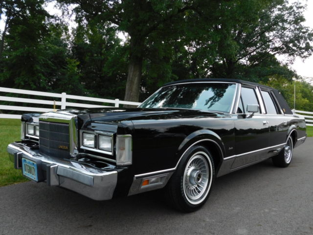 1989 Lincoln Town Car Signature Series Rust Free New Transmission