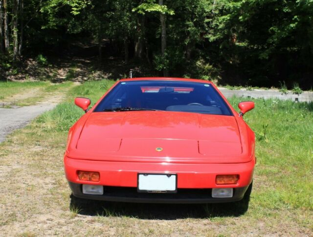 1989 Red Lotus Esprit with Black interior