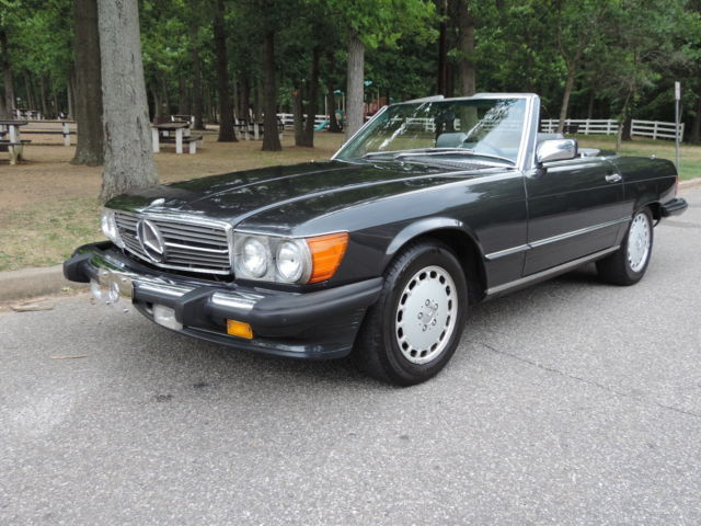 1989 Mercedes-Benz SL-Class Original Paint. Both Tops.