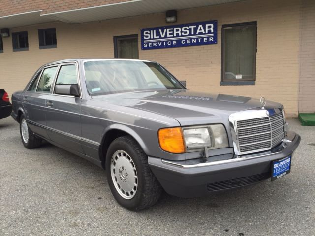 1989 Mercedes-Benz 400-Series 420SEL