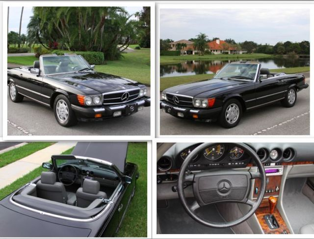1989 Mercedes-Benz 500-Series 560 SL hard/soft top