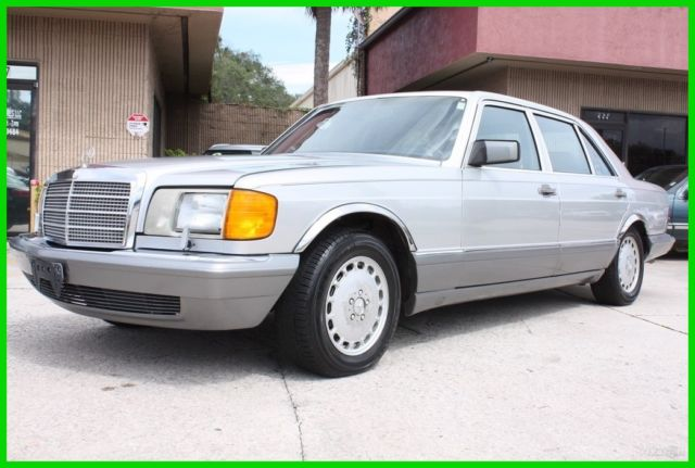 1989 Mercedes-Benz 500-Series 560SEL W126 OUTSTANDING V8 FLORIDA NO RESERVE!