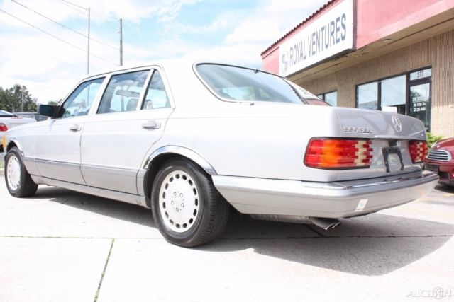 1989 MERCEDES BENZ 560 SEL FLORIDA CARFAX IMMACULATE NO RESERVE! for