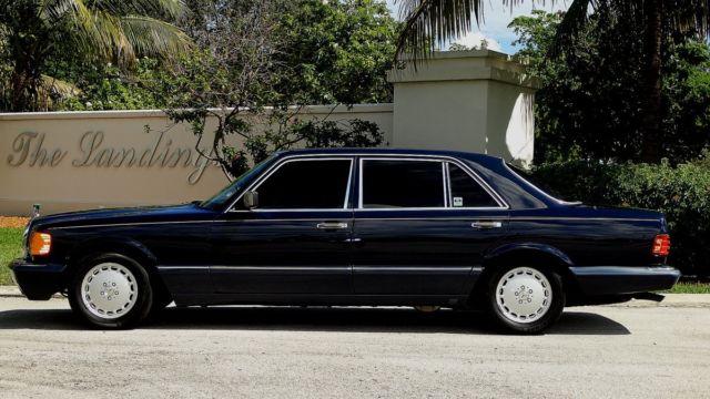 1989 mercedes benz 560 sel premium luxury sedan fl car a must see to appreciate for sale photos. Black Bedroom Furniture Sets. Home Design Ideas