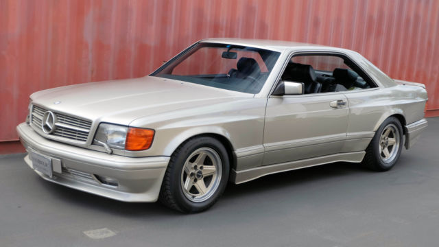1989 mercedes benz 560sec 6 0l amg for sale photos for Mercedes benz 560 sec amg for sale