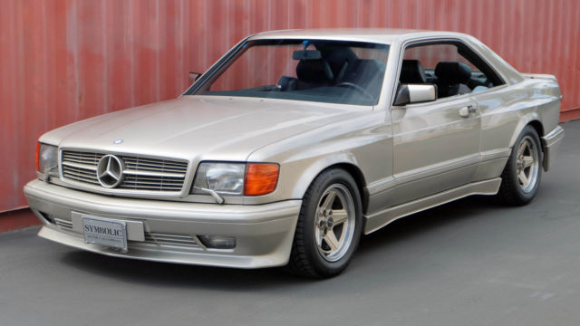 1989 mercedes benz 560sec 6 0l amg for sale photos for Mercedes benz 560sec for sale