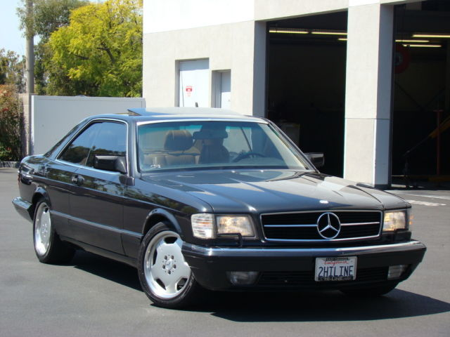 1989 Mercedes-Benz 500-Series 560SEC