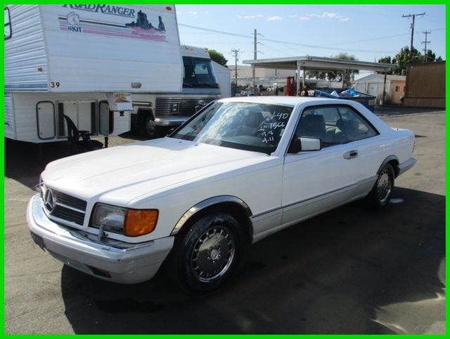 1989 Mercedes-Benz 500-Series 2 Dr
