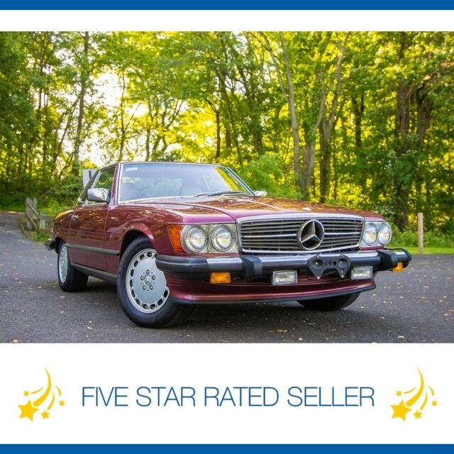 1989 Mercedes-Benz SL-Class Low 35K mi Soft Hard Top Rare Collectible!