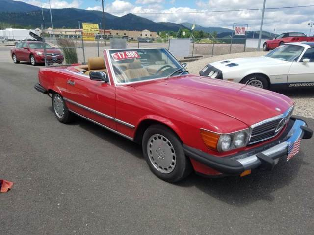 1989 Mercedes-Benz 500-Series 560 SL 2dr Convertible