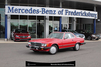 1989 Mercedes-Benz SL-Class 560 Series 2dr Coupe 560SL Roadster