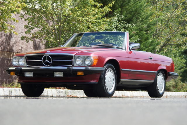 1989 Mercedes-Benz 500-Series