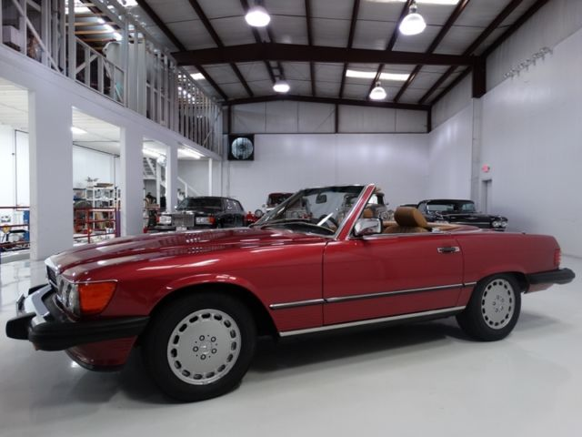 1989 Mercedes-Benz SL-Class ONLY 53,248 ACTUAL MILES! 2-OWNER'S FROM NEW!