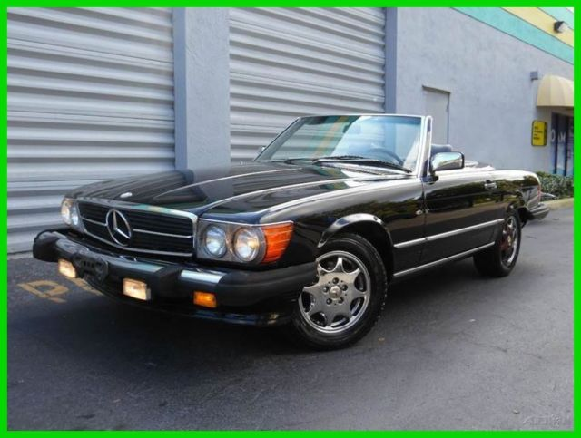 1989 Mercedes-Benz 500-Series 2 Dr Convertible