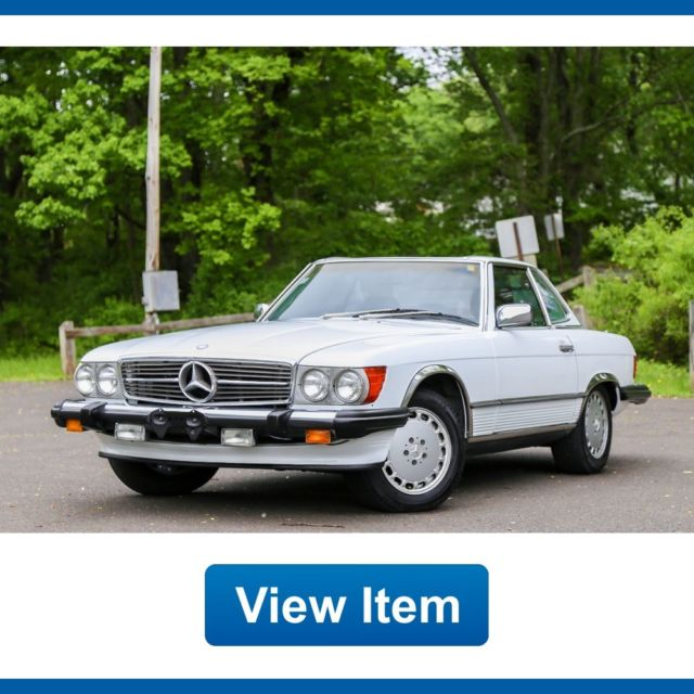1989 Mercedes-Benz SL-Class Soft Hard Top Carfax Fully Serviced Southern