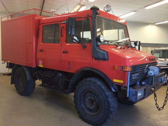 1989 MERCEDES BENZ UNIMOG U1250L DOKA DOUBLE CAB 4X4 ...