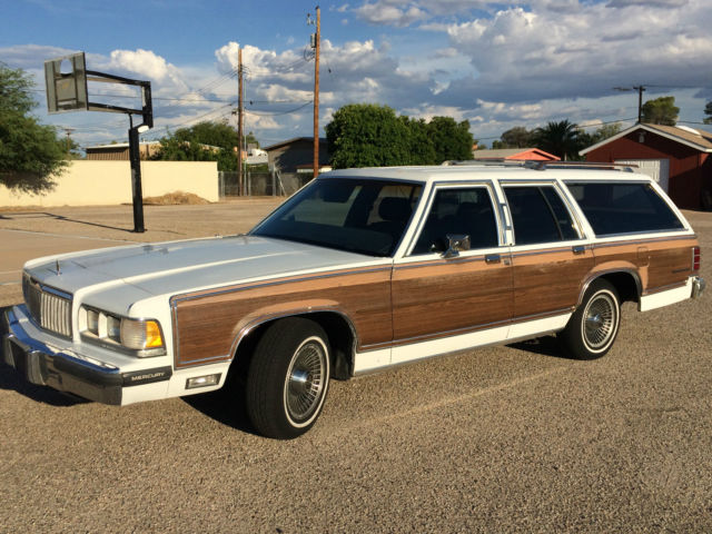 1989 mercury grand marquis colony park ls station wagon. Black Bedroom Furniture Sets. Home Design Ideas