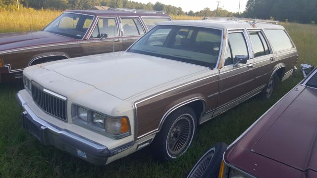 1989 Mercury Grand Marquis Colony Park LS