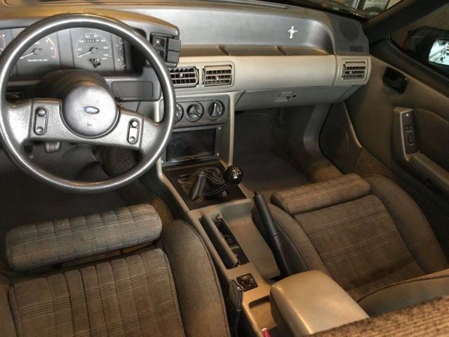 1989 Mustang Interior Colors