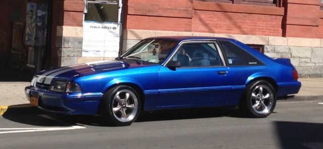 1989 Mustang LX 50 Supercharged for sale photos technical