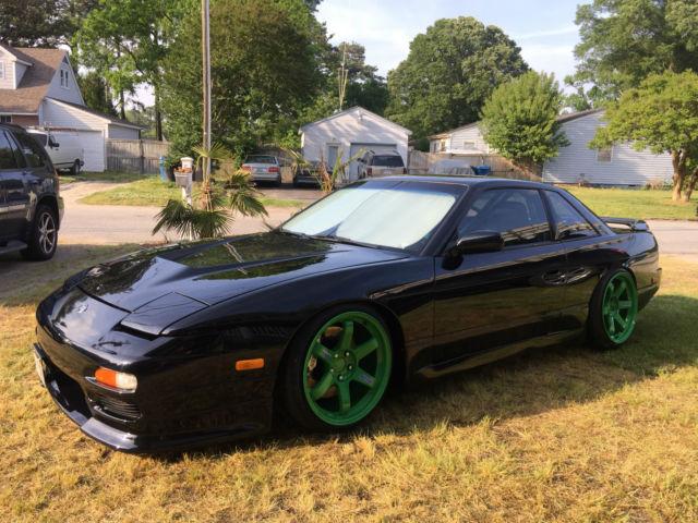 1989 Nissan 240sx S13 Coupe Ka T 500hp Jdm Black For Sale