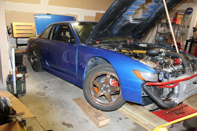 1989 Nissan 240sx With Vh45dett Twin Turbo Drift Car For Sale