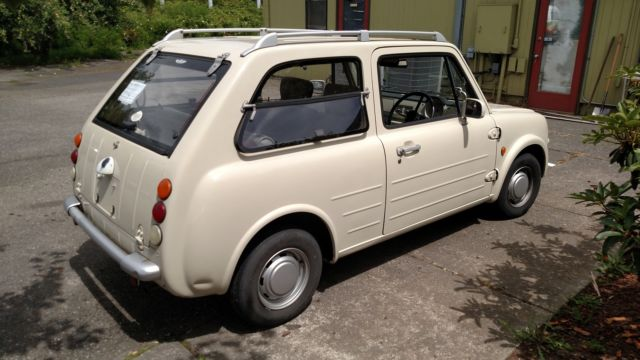 1989 Nissan Pao *Legal Import* RHD JDM for sale: photos ...