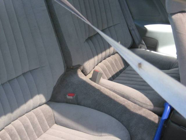1989 White Pontiac Firebird with Gray interior