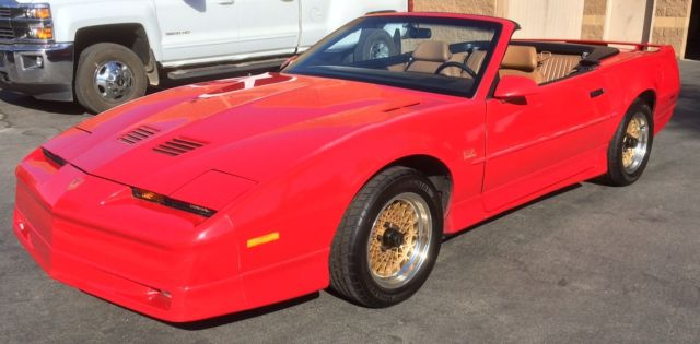 1989 Pontiac Trans Am Convertible