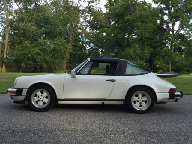 1989 Porsche 911 Targa - Last Year for 3.2 Carrera