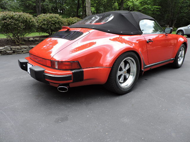 1989 Porsche 911 Speedster Convertible 2 Door 3 2l For Sale Photos Technical Specifications