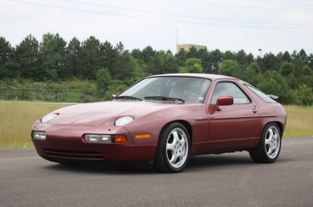 1989 porsche 928 s4 coupe 2 door 5 0l rare color. Black Bedroom Furniture Sets. Home Design Ideas