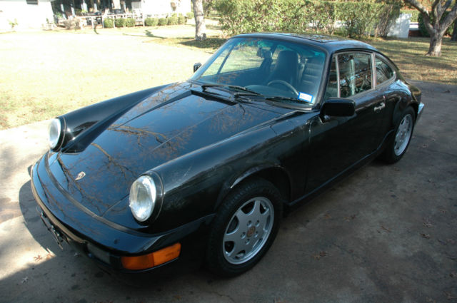 1989 Porsche 911 964 5-speed Manual coupe