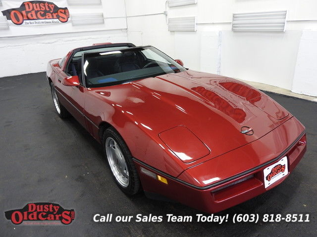 1989 Chevrolet Corvette Runs Drives Body Inter Vgood 350V8 3spd auto