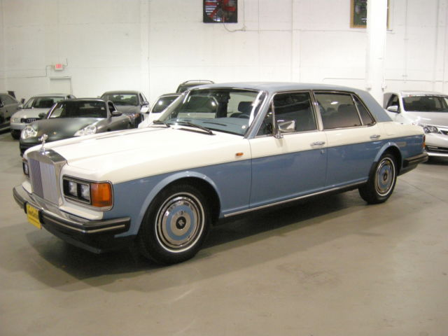 1989 Rolls-Royce Silver Spirit/Spur/Dawn SEDAN 4DR