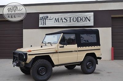 1989 Mercedes-Benz G-Class G-class G-wagon G-series 240GD