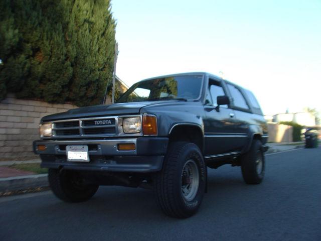 1989 Toyota 4runner 2 Door 2 4l 22re 1986 1987 1988 For