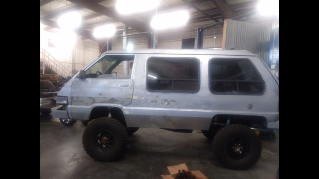 1989 toyota 4x4 van for sale: photos, technical specifications